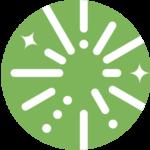 Successful Parentpreneur logo icon green