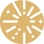 Successful Parentpreneur logo icon gold