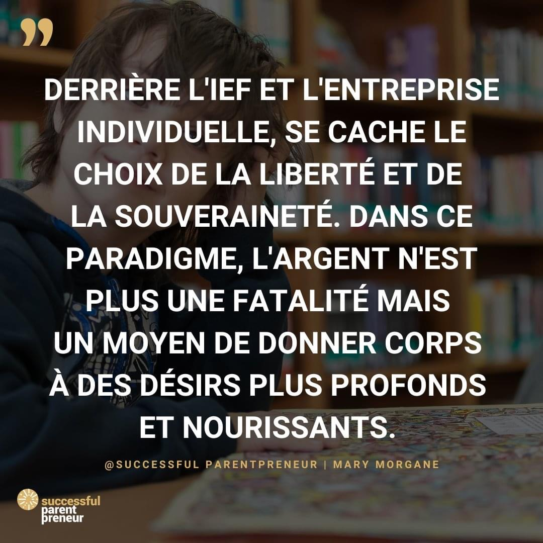 Ief et entrepreneuriat : Mary Morgane